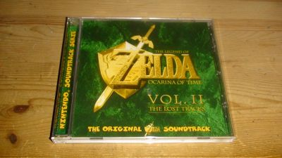 Zelda: Ocarina of Time - Vol. II: The Lost Tracks - Front