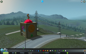 Cities Skylines - Workshop-Objekt: Scrooge McDuck's Money Bin / Onkel Dagoberts Geldspeicher