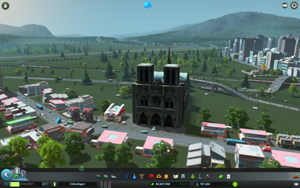 Cities Skylines - Workshop-Objekt: Notre Dame