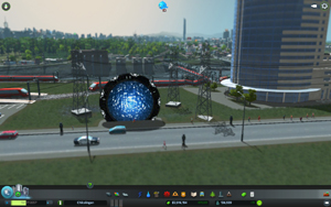 Cities Skylines - Workshop-Objekt: Ancient Stargate by Morsh