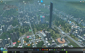 Cities Skylines - Workshop-Objekt: Combine Citadel - Half Life 2