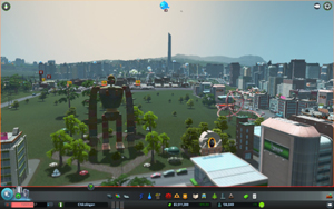 Cities Skylines - Workshop-Objekt: Robot Soldier from 'Laputa, Castle in the Sky'