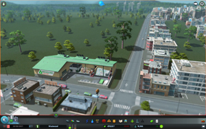 Cities Skylines - Workshop-Objekt: Recycling Center