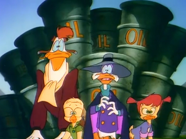 Screenshot aus Darkwing Duck