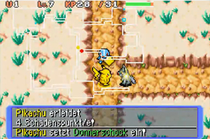 Screenshot aus Pokémon Mystery Dungeon