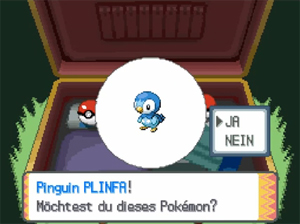 Screenshot aus Pokémon Diamant & Perl
