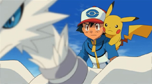 Screenshot aus dem Pokémon-Anime