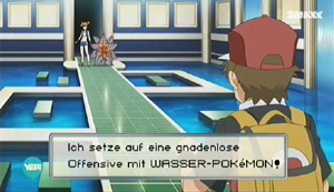 Screenshot aus Pokémon Origins