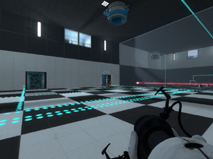 Portal 2 - Custom Map: Chess Chamber
