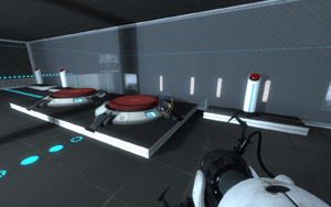 Portal 2 - Custom Map: Observation Room