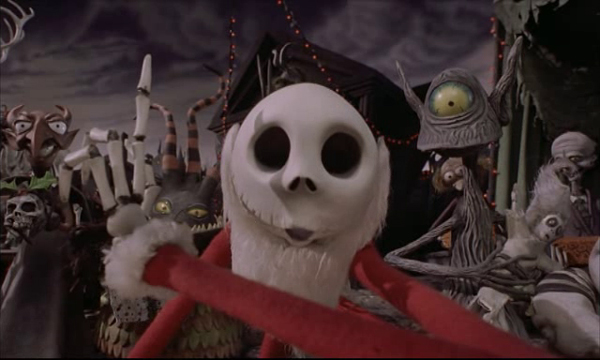 Screenshot aus The Nightmare Before Christmas