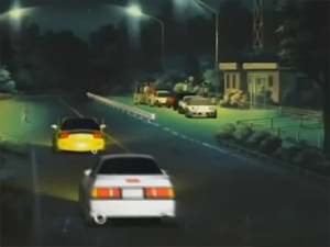 Screenshot aus Initial D