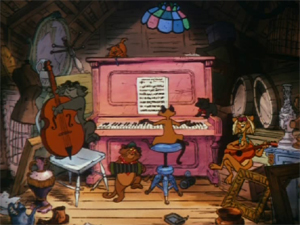 Screenshot aus Aristocats