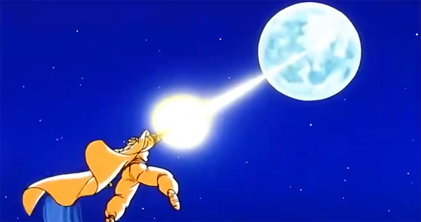 Screenshot aus Dragon Ball Z