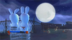 Screenshot aus Rabbids Go Home
