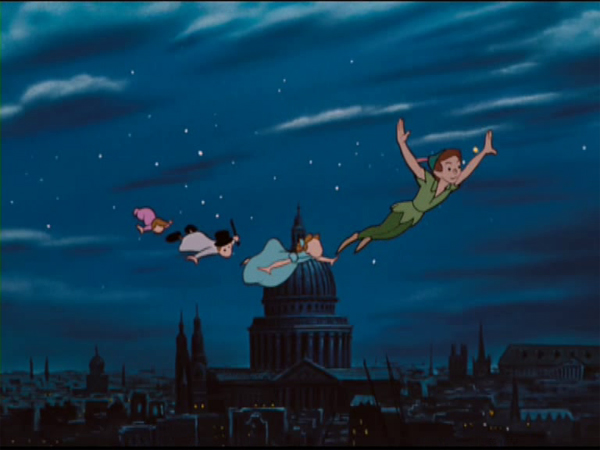 Screenshot aus Peter Pan