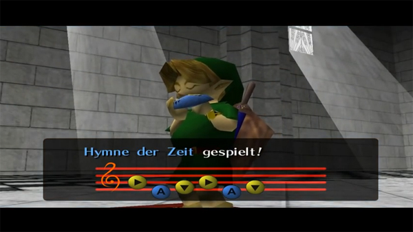Screenshot aus Zelda: Ocarina of Time